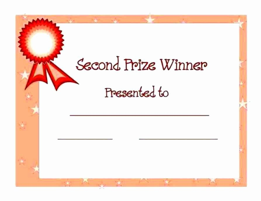 1st 2nd 3rd Place Certificate Template Best Of 1st Place Award Certificate Template Update234