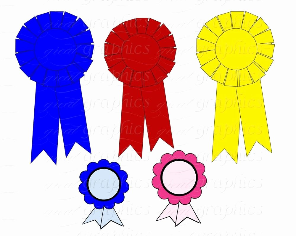 1st 2nd 3rd Place Certificate Template Best Of Printable Award Ribbons