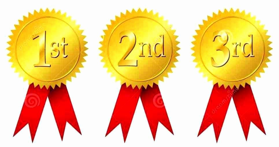 1st 2nd 3rd Place Certificate Template New 1st Prize Ribbon Template Update234 Template