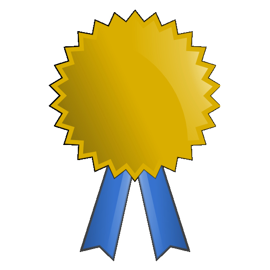 1st Place Ribbon Png Awesome Gold Award Clipart Clipart Suggest