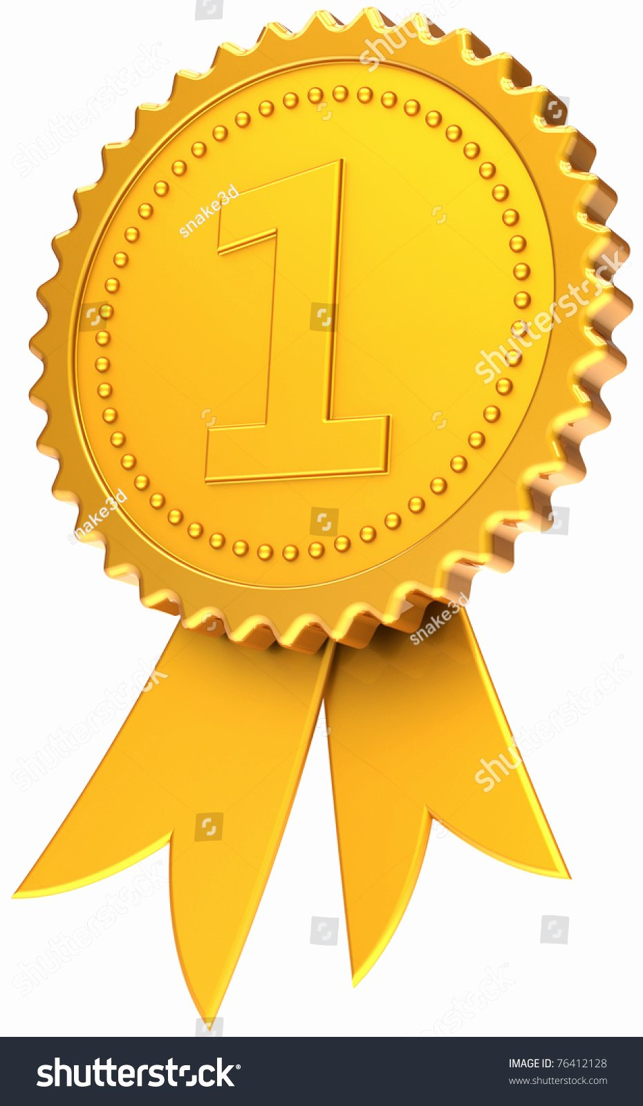1st Place Ribbon Template Awesome First Place Golden Award Ribbon Number E Champion Medal