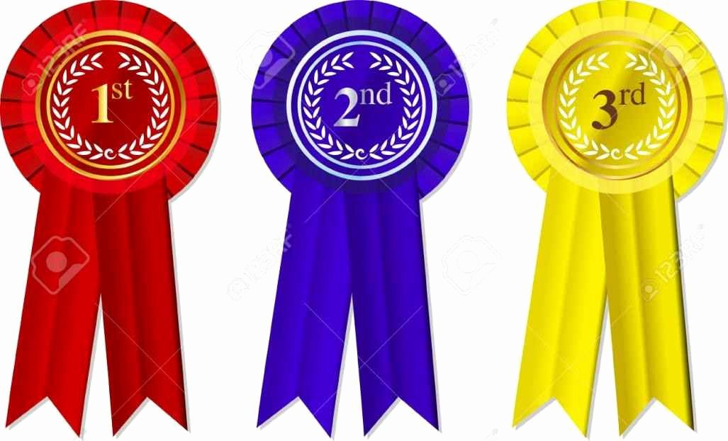 1st Place Ribbon Template Elegant First Second Third Place Ribbons Template Update234