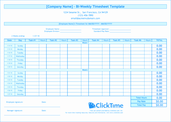 2 Week Timesheet Awesome Bi Weekly Expenses Spreadsheet Spreadsheet Downloa Bi