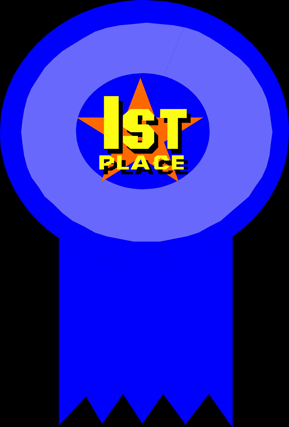 2nd Place Ribbon Png Inspirational Award Free Stock