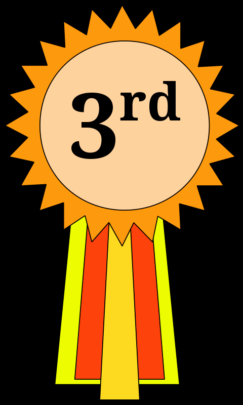 2nd Place Ribbon Png Lovely 3rd Place Ribbon Green Clipart Clipart Suggest