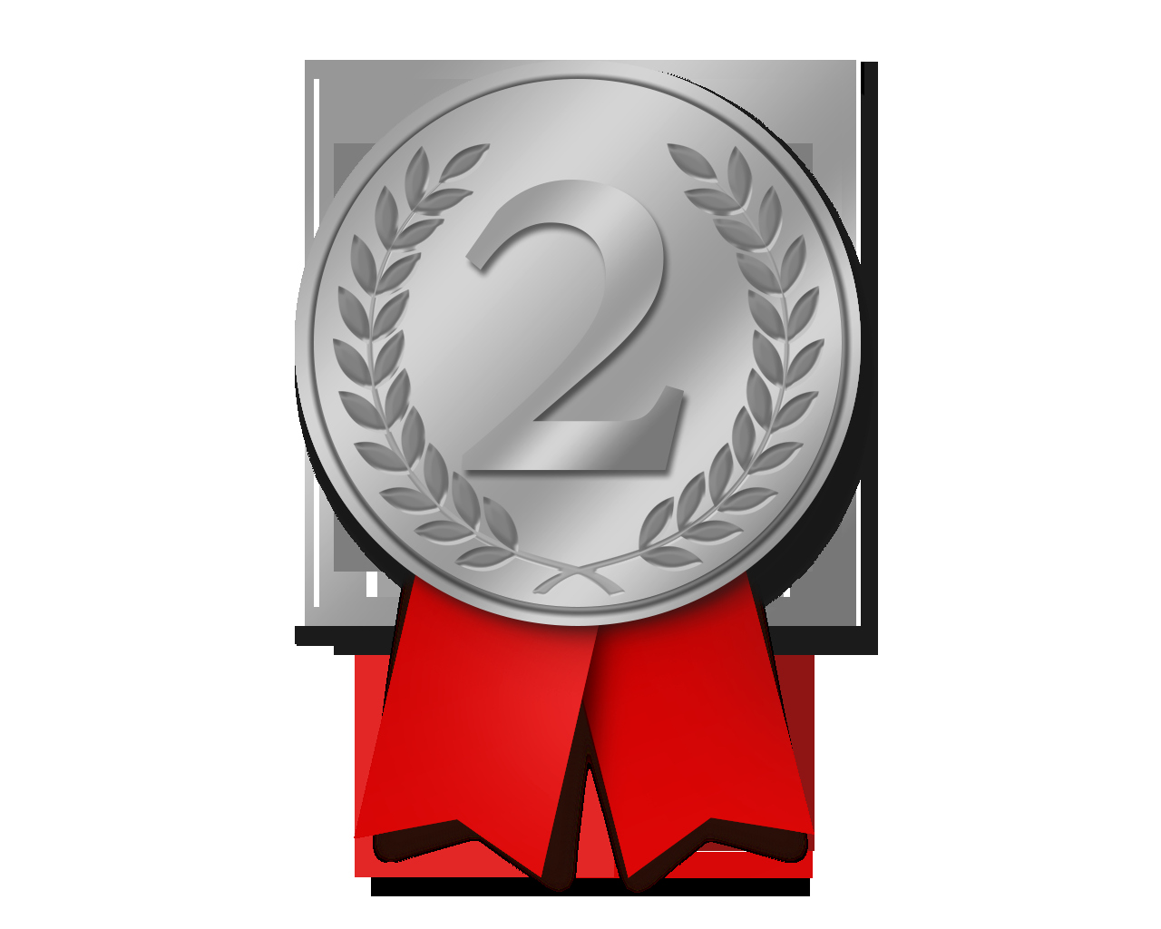 2nd Place Ribbon Png Luxury Download Silver Medal Png File Free Transparent Png