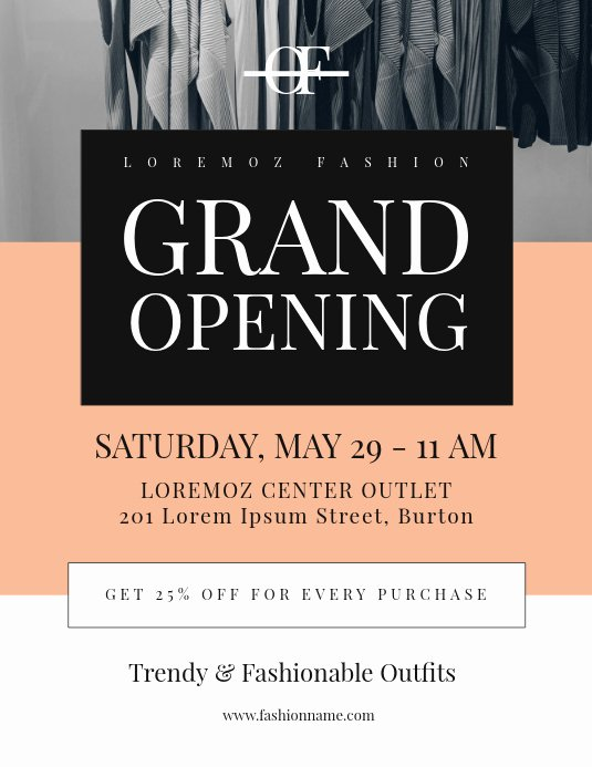 3 by 5 Index Card Template Google Docs Best Of Copy Of Grand Opening Flyer Template