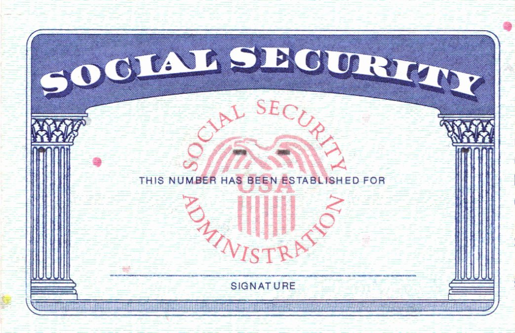 3 by 5 Notecard Template Google Docs Best Of social Security Card Template