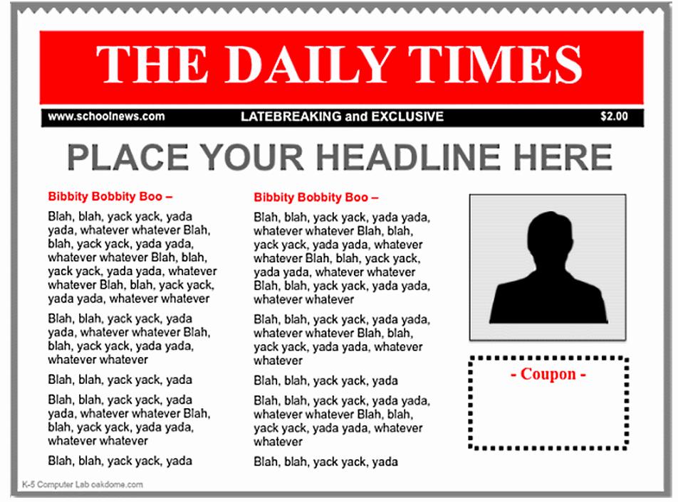 3 good ipad newspaper templates for