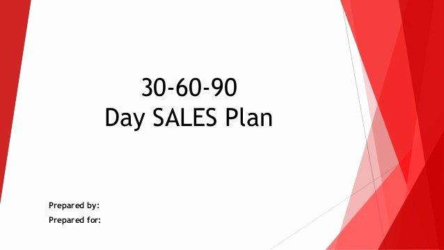 30 60 90 Day Sales Plan Template Free Elegant 30 60 90 Day Sales Action Plan