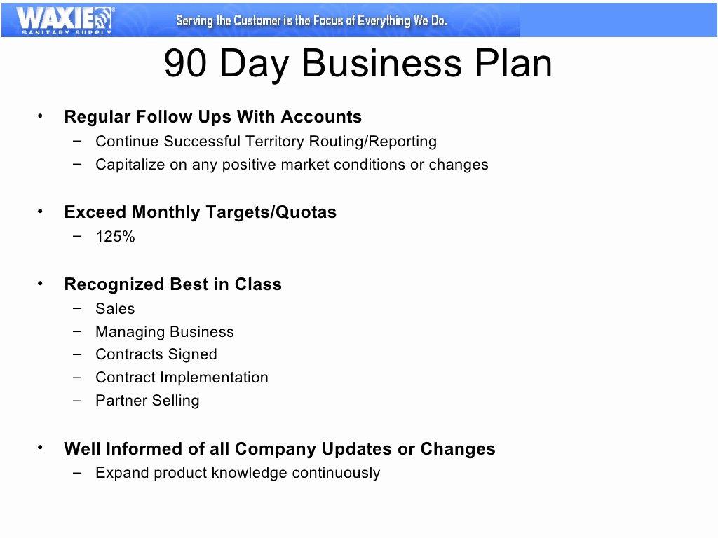 30 60 90 Day Sales Plan Template Free Unique 30 60 90 Business Plan