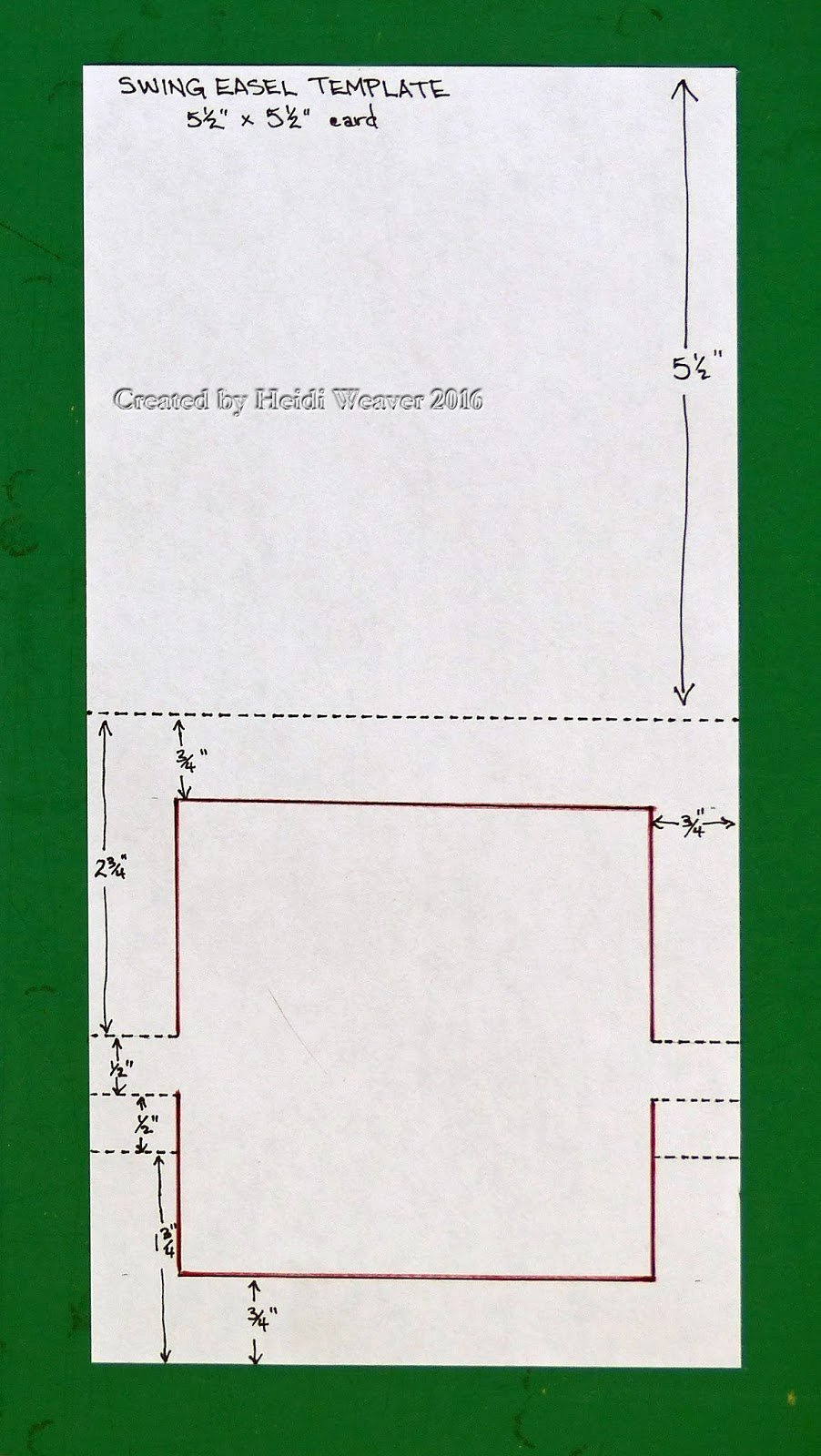 5 X 7 Postcard Template Awesome Stampin Along with Heidi the Swing Easel Fun with Sizes
