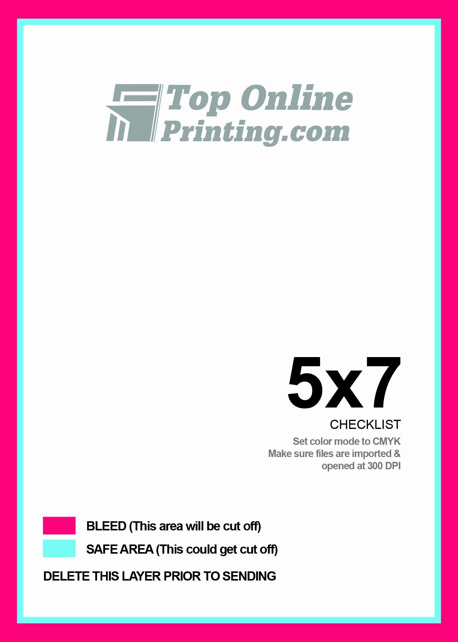 5 X 7 Postcard Template Lovely 5x7 Postcard Printing
