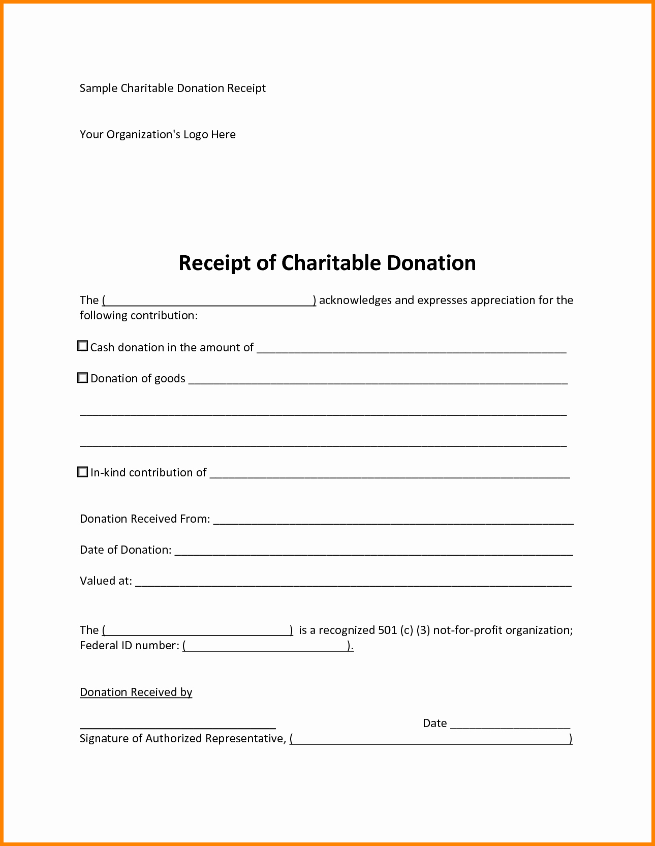 501c3 Donation Receipt Inspirational 25 Of 501c3 Letter Template