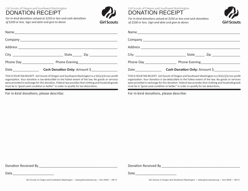 501c3 Donation Receipt Inspirational 501c3 Donation Receipt
