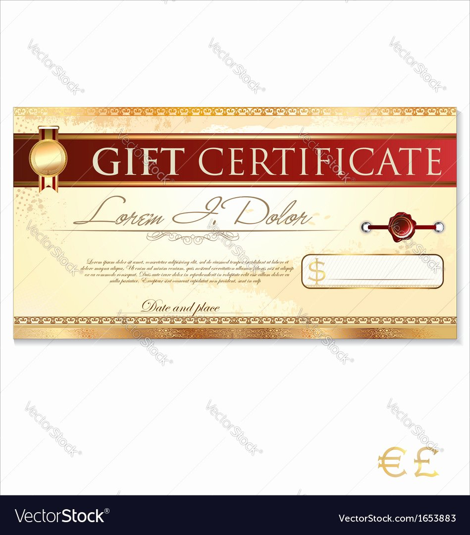 529 Gift Certificate Template New What It is A Gift Certificate Template