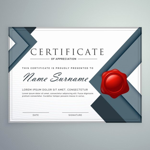 gray geometric certificate