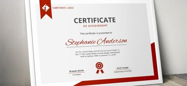 6d Certificate Ma Template Unique Blog