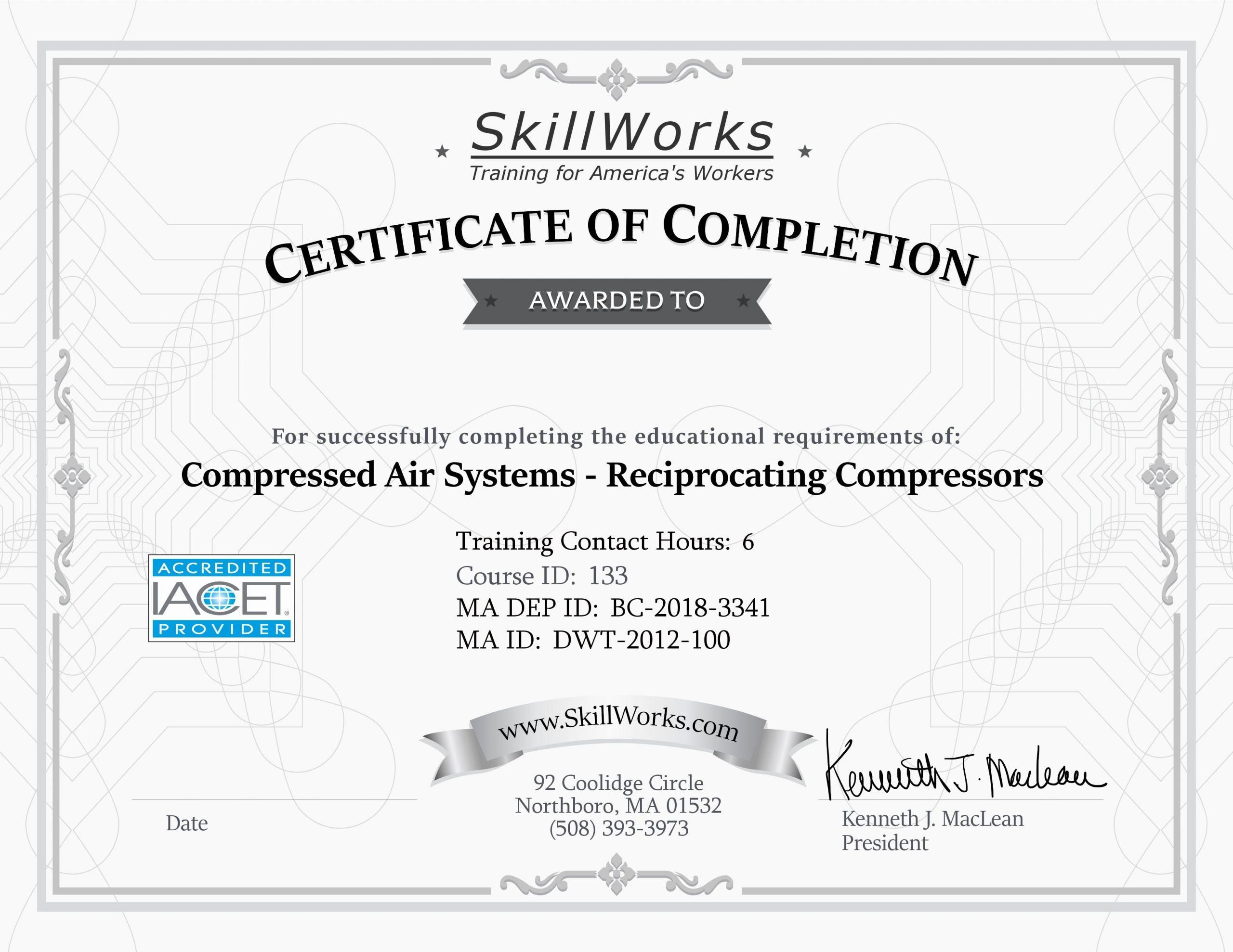 6d Certificate Massachusetts Template Elegant Ma 133 Certificate Template Ken