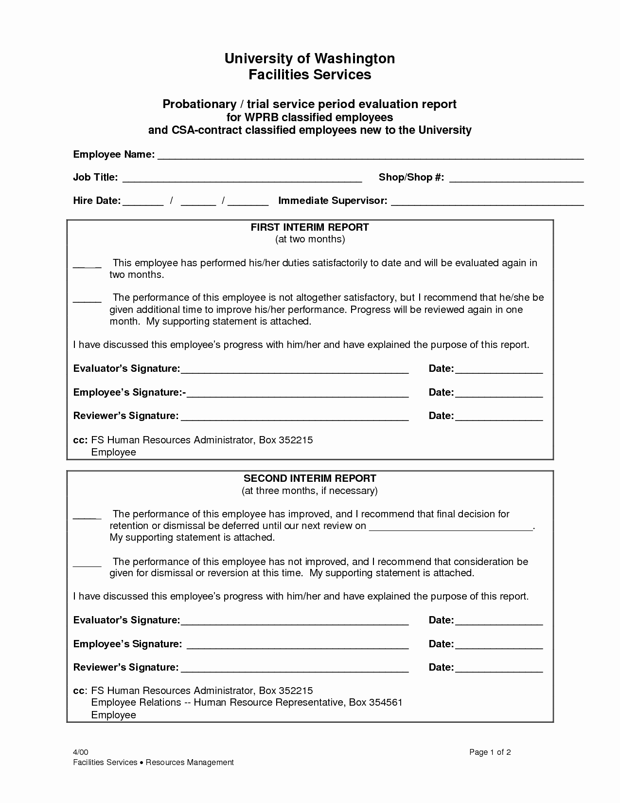90 Day Probation Period Letter Awesome Best S Of 90 Day Probationary Period Template 90
