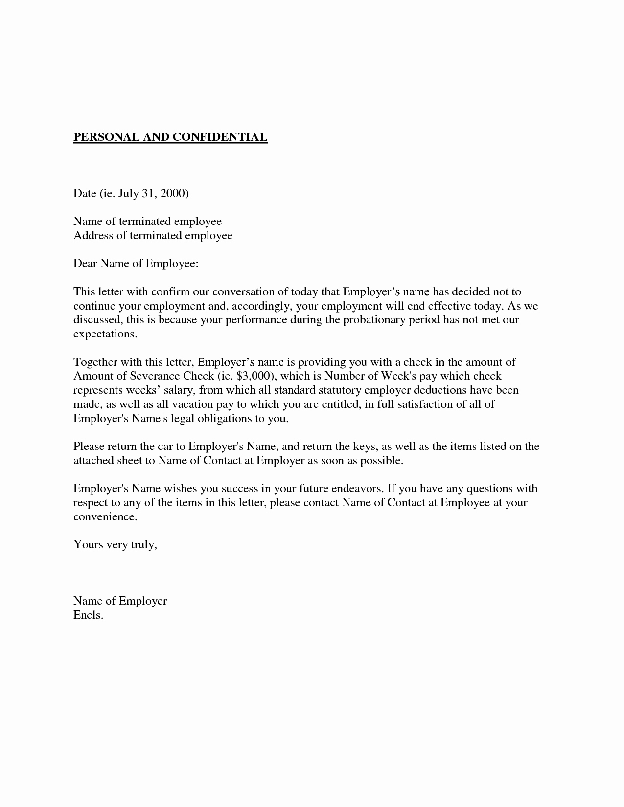 90 Day Probation Period Template Awesome Best S Of New Hire Probation Period Letter Employee