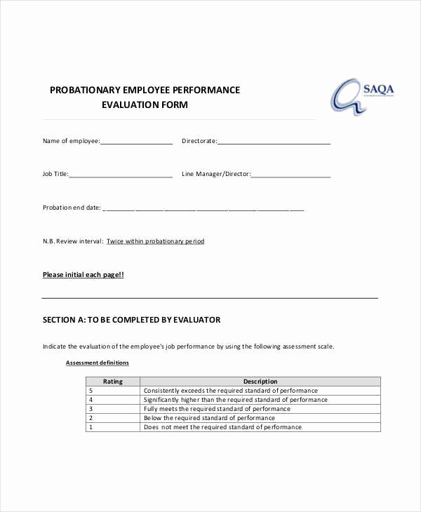 90 Day Probation Period Template Fresh 13 Of 90 Day Probation Period Warning Template