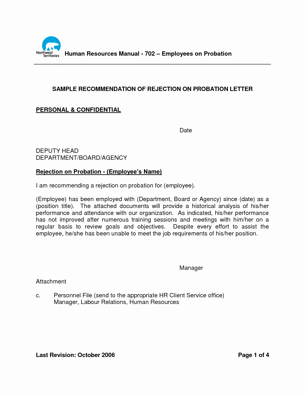 90 Day Probationary Period form Elegant Letter Employment with Probationary Period