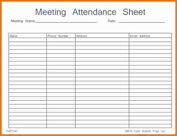 Aa Meeting Log Sheet Unique Na Meeting attendance Sheet Printable to Pin On