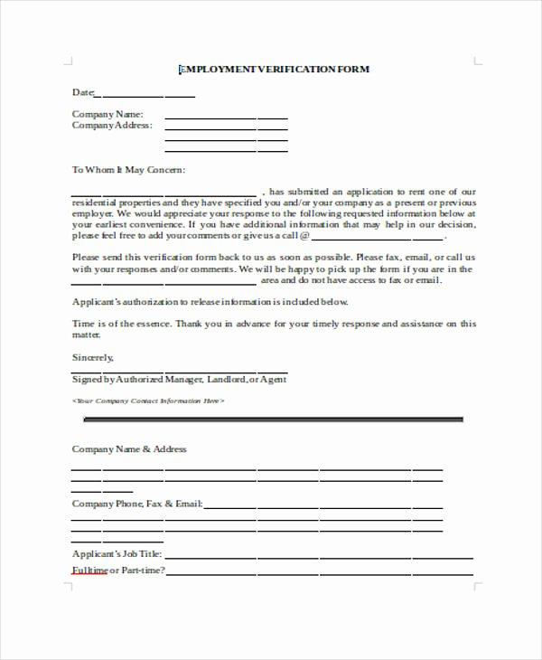 Aa Na attendance Verification Sheet Lovely Free 32 Free Verification forms