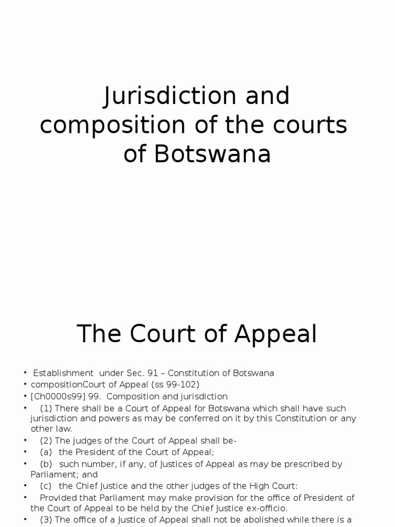 Aa Sign In Sheet for Court Best Of Jurisdiction and Position Of the Courts Of Botswana