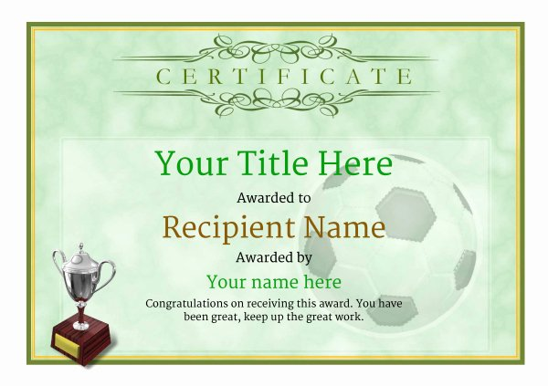 Ab Honor Roll Certificate Template New Free Uk Football Certificate Templates Add Printable