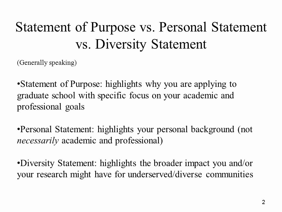 Academic Goals Statement Lovely Personal Statement Vs Academic Statement Of Purpose