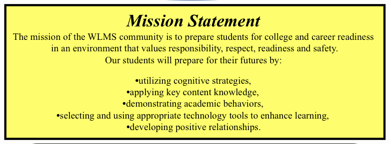 Academic Mission Statement Examples Fresh Lessons Learned In the Middle New Vision Mission and