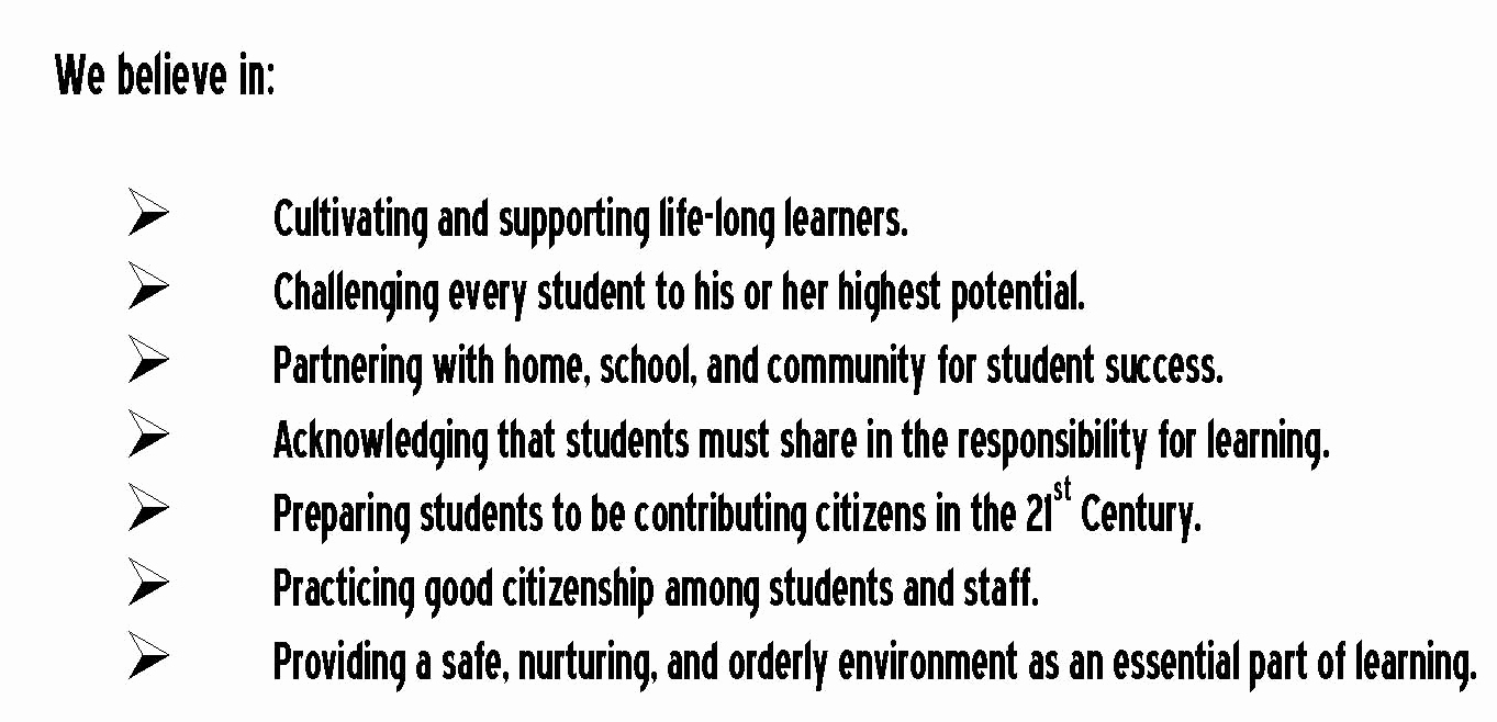 Academic Mission Statement Examples Inspirational School Mission Statements Practice What You Preach