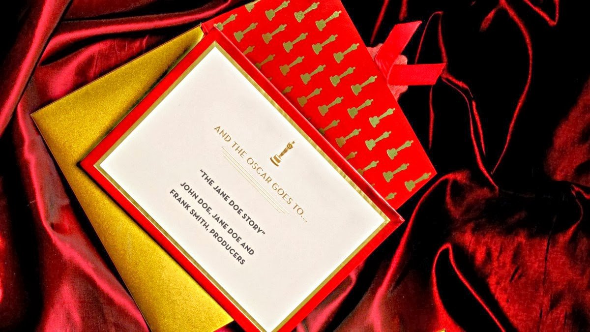 Academy Award Envelope Template Awesome Precision Envelope S Small Business Blog the Envelope