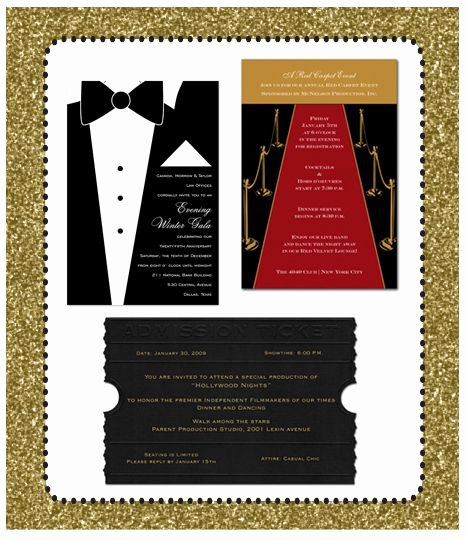 Academy Award Envelope Template Best Of Oscars 2012 4