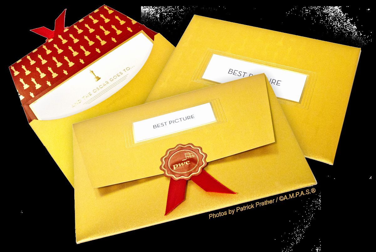 Academy Award Envelope Template Elegant and the New Envelope Please…