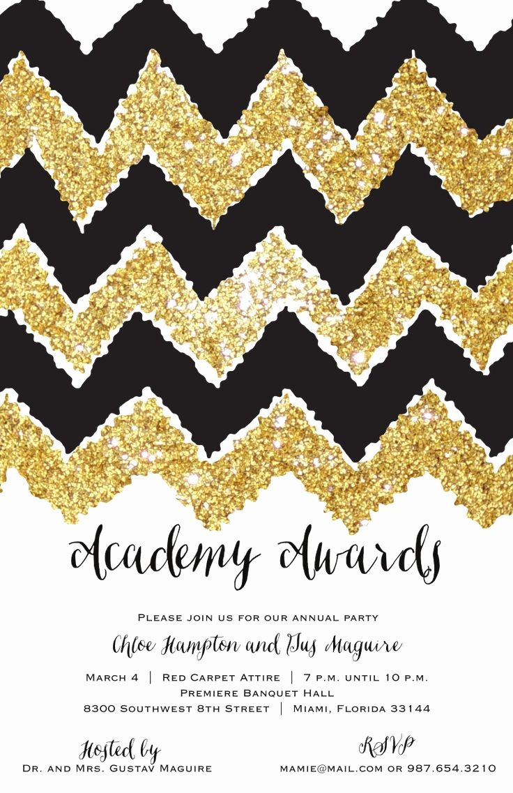 Academy Award Envelope Template New 49 Best Oscar Academy Awards Party Invitations Images On