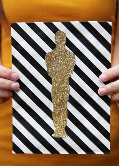 Academy Award Envelope Template Unique and the Award for Best Diy Oscar Party Goes to You