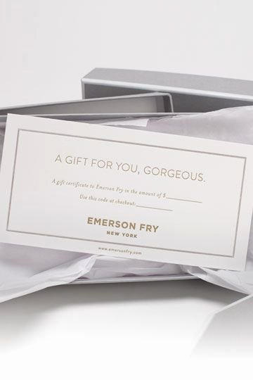Adams Gift Certificate Template Download Beautiful Emerson Fry Boxed Gift Certificate