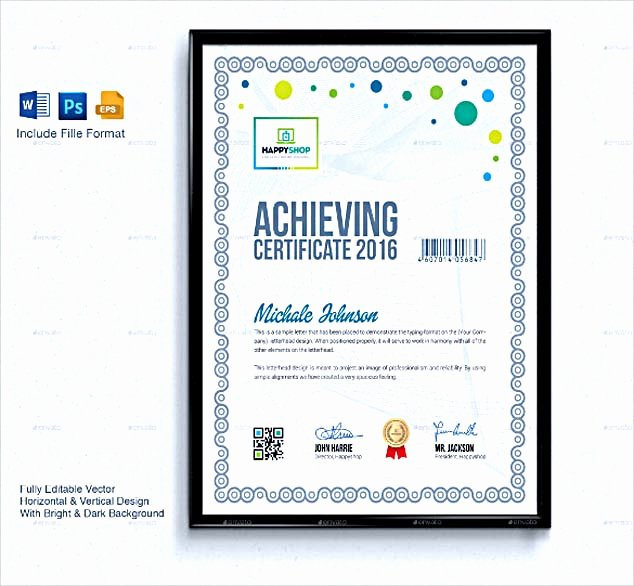 selecting certificate template word online for diy certificate printing