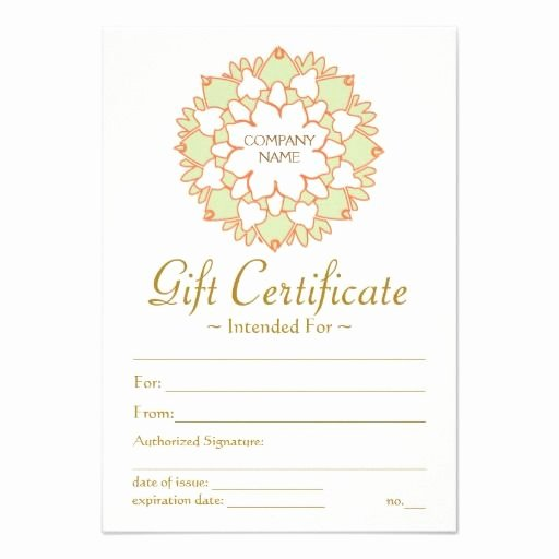 Adams Gift Certificate Template Download Luxury 25 Best Images About Gift Certificate Templates On