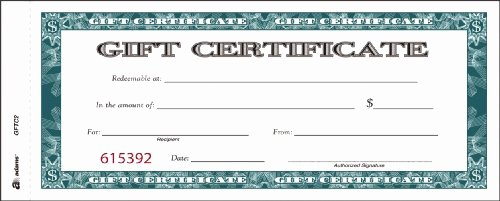 Adams Gift Certificate Template Download New Adams
