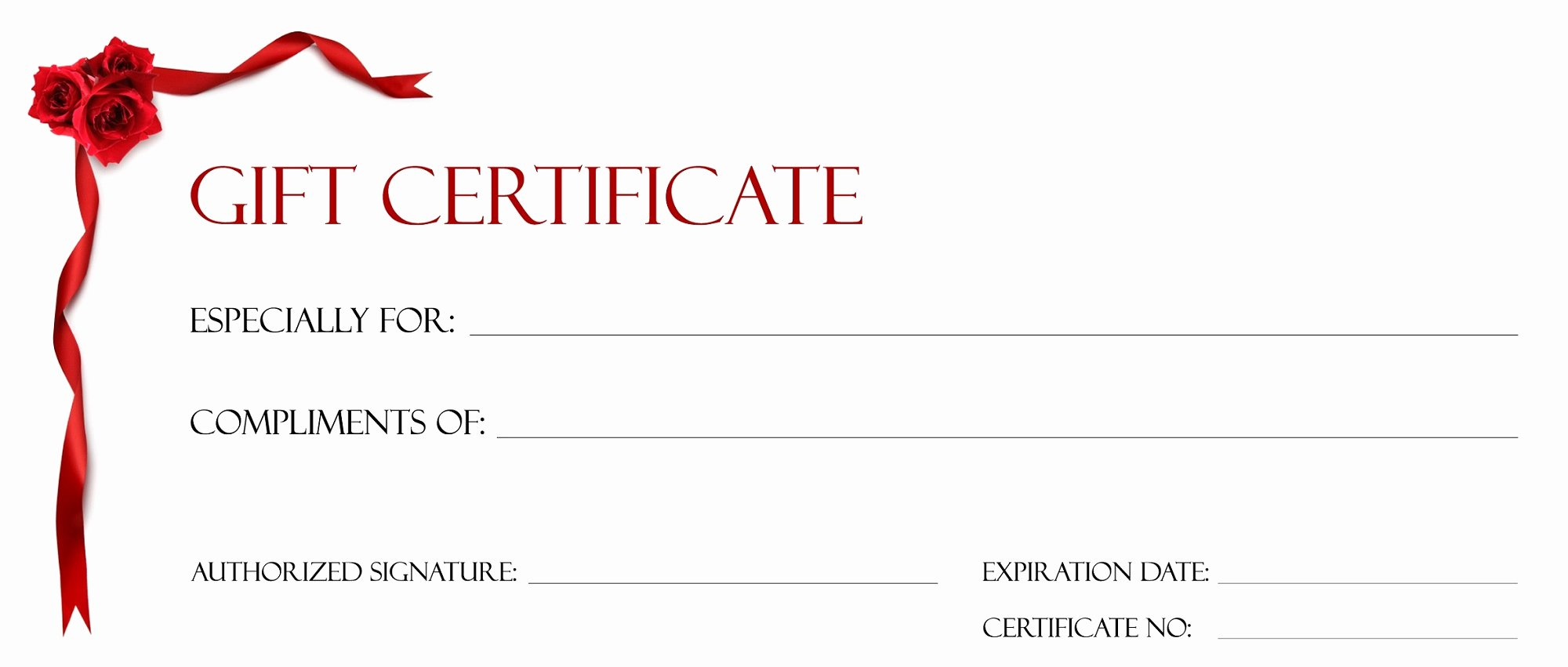 Adams Gift Certificate Template Word New Gift Certificate Template for Kids Blanks