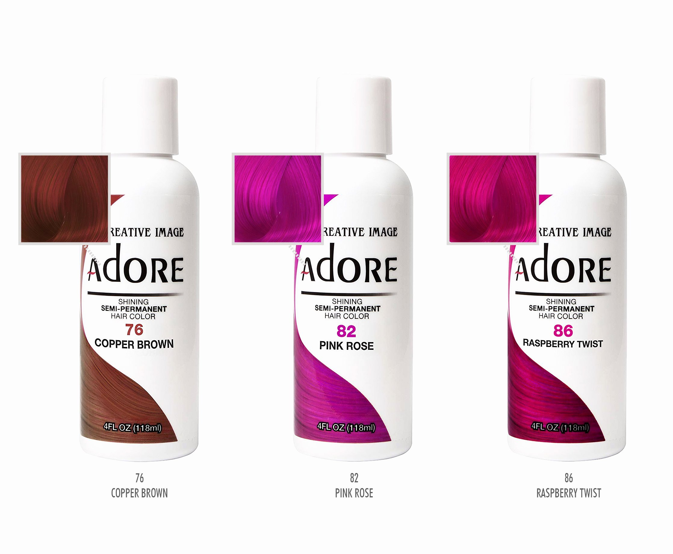 Adore Semi Permanent Hair Color Chart Awesome Adore Hair Color Copper Brown