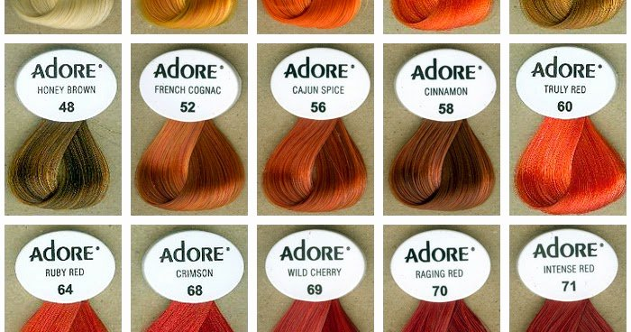 Adore Semi Permanent Hair Color Chart Awesome Pin Ionpermanenthaircolortattoolovegallerytattoospictures