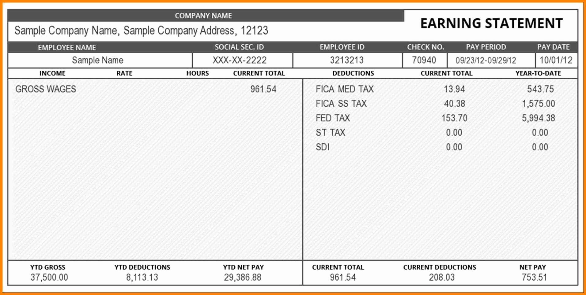 Aerotek Pay Stubs Online Lovely 8 Electronic Check Stubs