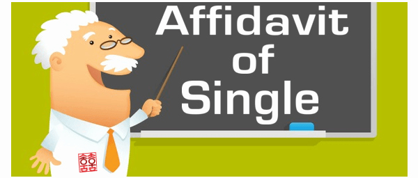 Affidavit Of Single Status Template Luxury How to Get An Affidavit Of Single form Authenticated for