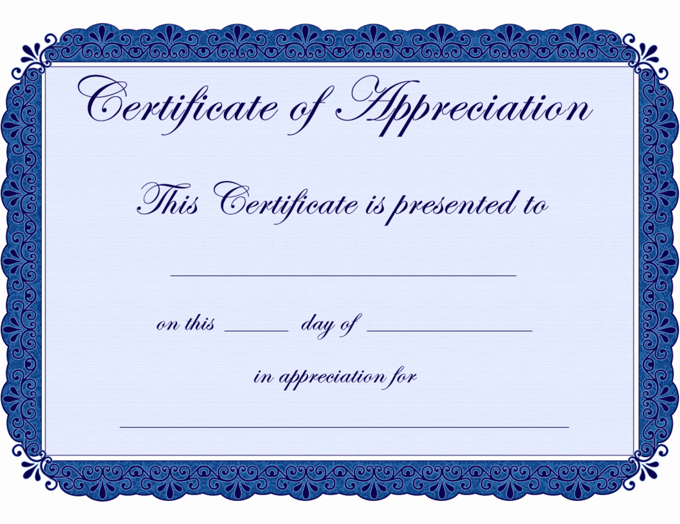 Air force Certificate Of Appreciation Template Unique Free Printable Certificates Certificate Of Appreciation