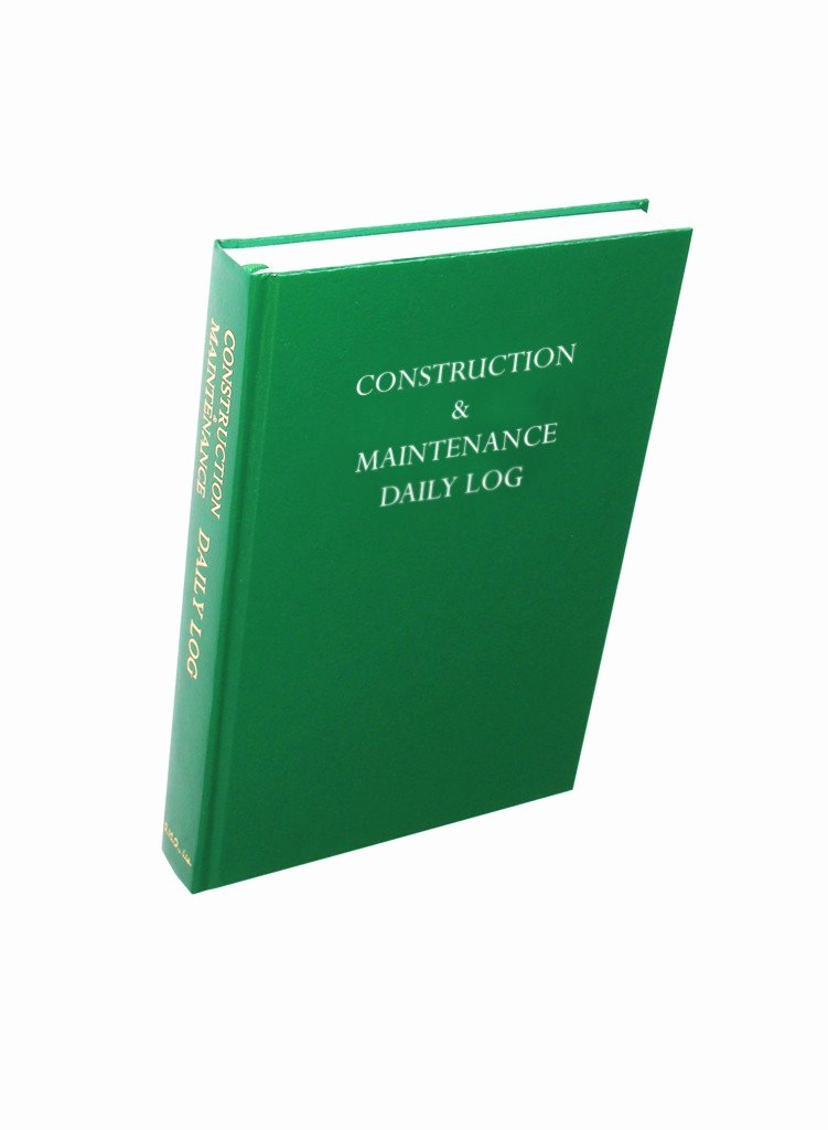 Aircraft Maintenance Logbook Entry Template Inspirational the Most Widely Used Construction Log Book In the Industry